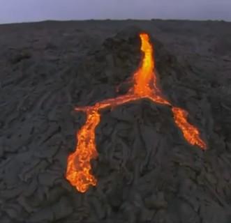 Извержение вулкана на Гавайях, или Гнев Пеле