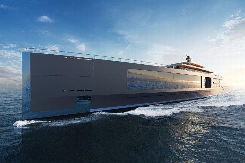 В Монако представили проект яхты стоимостью $3 млрд