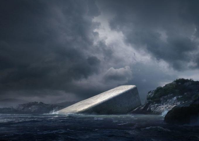 В Норвегии откроют первый подводный ресторан в холодном море
