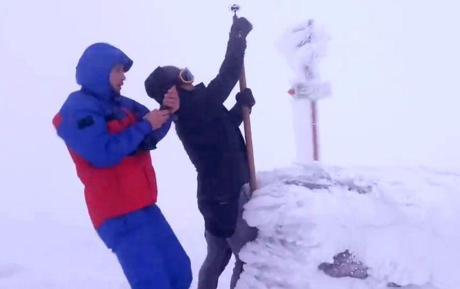 В Карпаты пришла настоящая зима