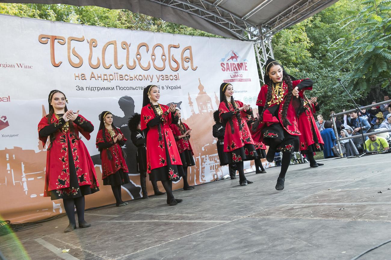 Тбилисоба на Андреевском 2017: немного Грузии в Киеве