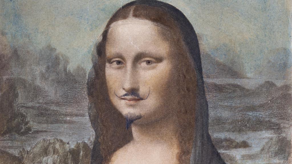 Бородатая «Мона Лиза» ушла с молотка за $743 тысячи