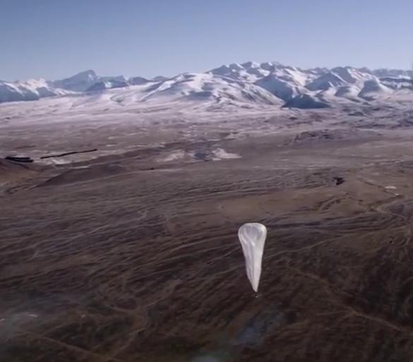 Над Пуэрто-Рико запустили воздушные шары с мобильным интернетом