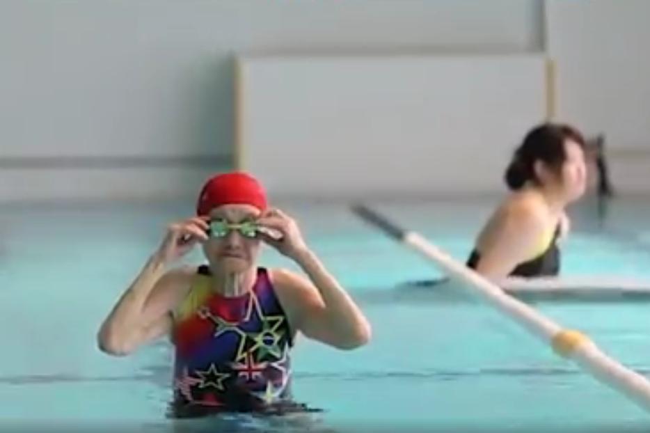 Столетняя японка установила мировой рекорд по плаванию