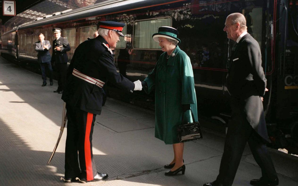 Букингемский дворец на колесах: как выглядит поезд королевской семьи.Вокруг Света. Украина