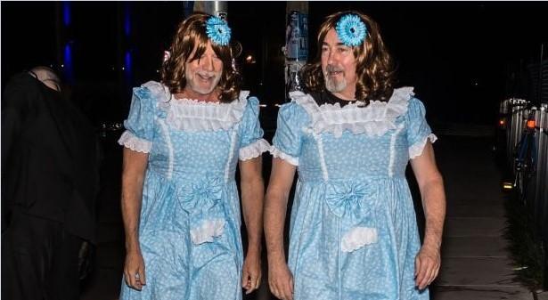 Фильм ужасов: Брюс Уиллис нарядился в платье
