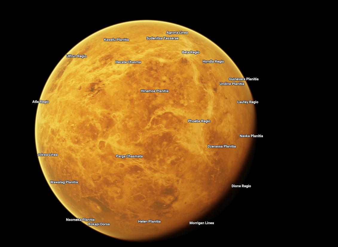 На Google Maps появились карты планет Солнечной системы