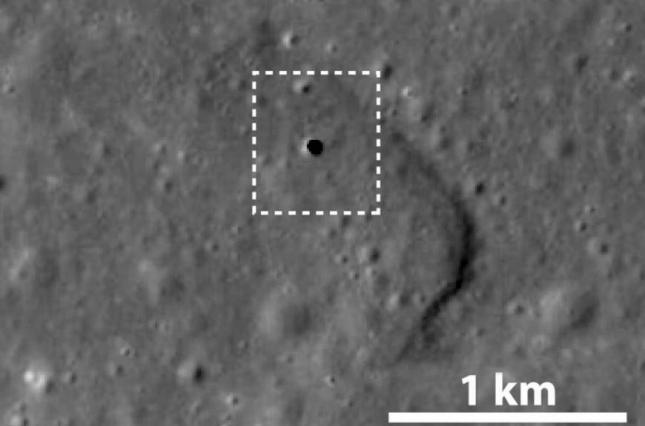 На Луне обнаружили гигантскую скважину
