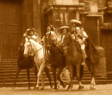 Слідами трьох мушкетерів