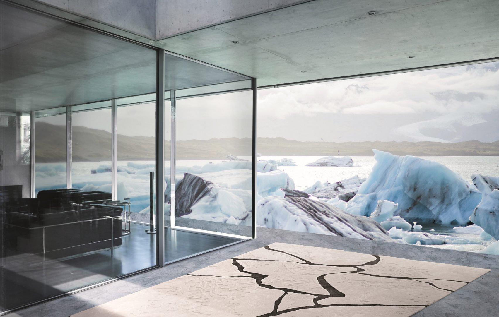 Ковры снова в моде: американский дизайнер посвятил новую коллекцию изменениям климата