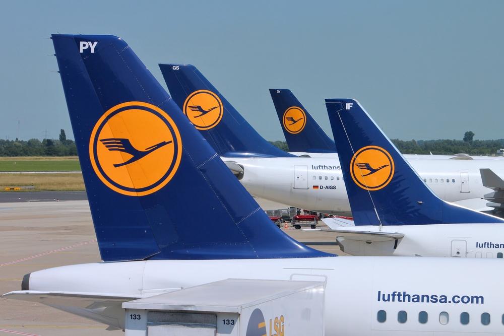 Lufthansa будет летать в Киев 20 раз в неделю