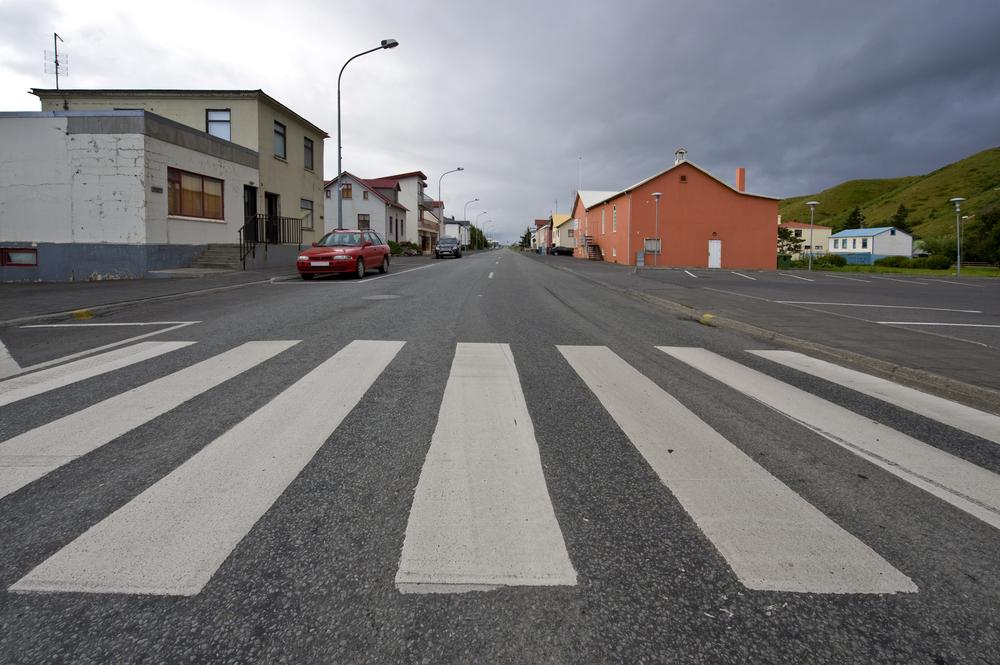 В Исландии придумали необычный способ предотвращать ДТП на перекрестках