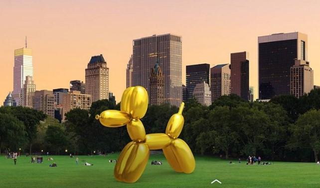 В Нью-Йорке разгорелся скандал из-за виртуальных скульптур.Вокруг Света. Украина