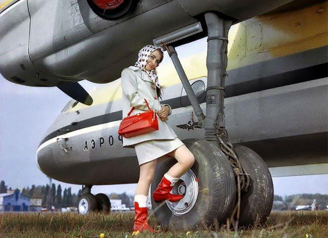 Рекламная кампания самолетов «Антонов» 50-60-х годов