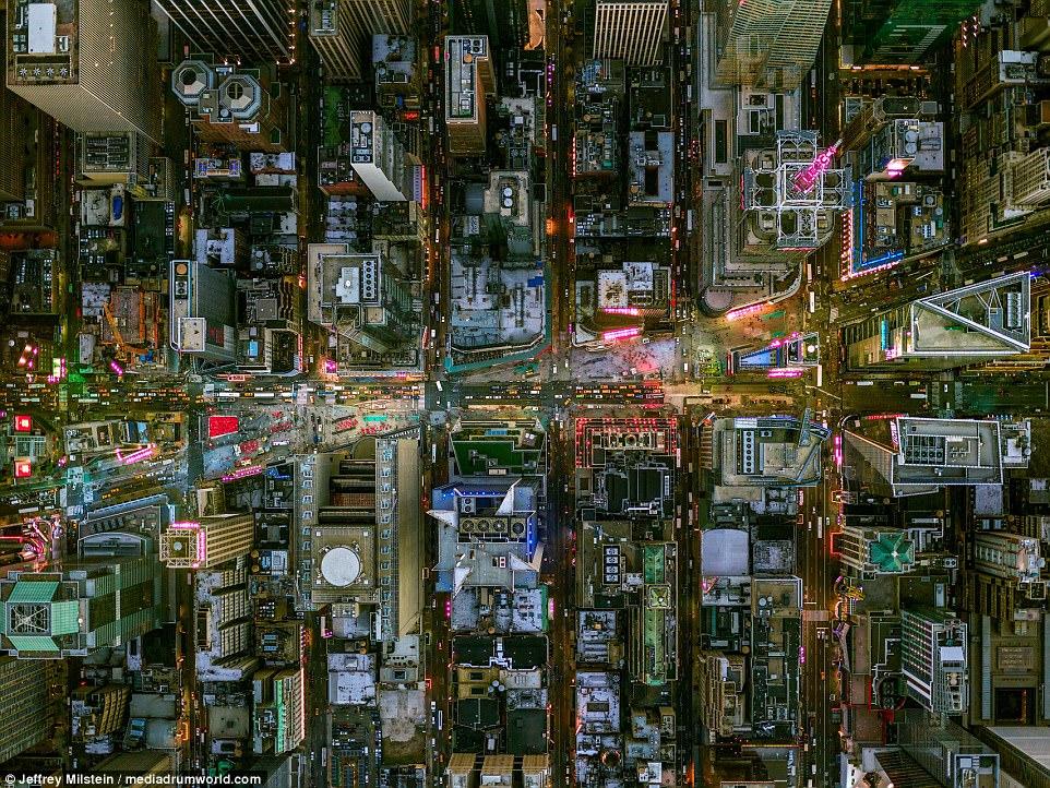 Небесный вид на Город Ангелов: как выглядят Нью-Йорк и Лос-Анджелес сверху