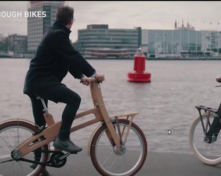 Деревянные велосипеды - новый экотренд Европы