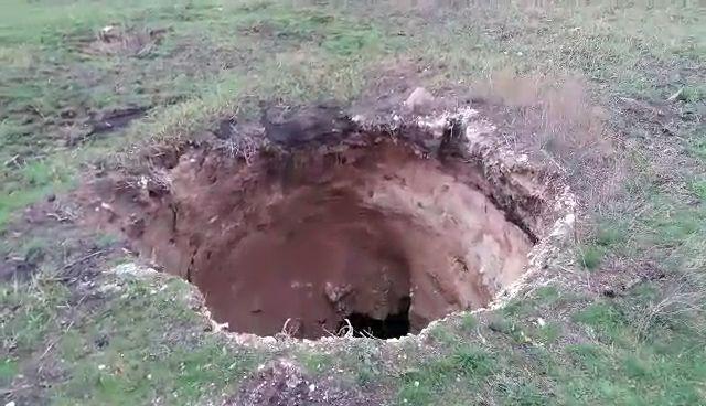 В Донецкой области земля ушла из-под ног на глубину пятиэтажки