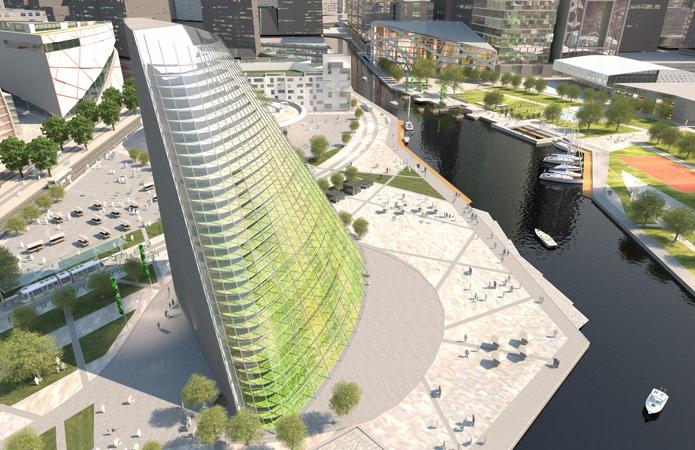Офис или огород? Шведы строят небоскреб, способный прокормить город