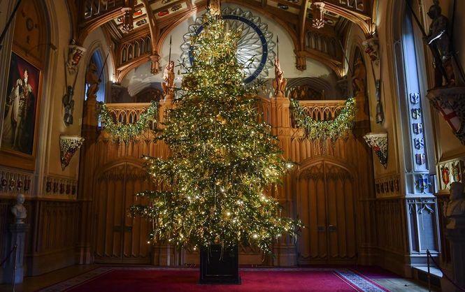 Как выглядит Рождество по-королевски