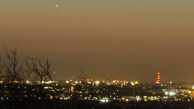 Парад планет: в сети появились снимки величественного свидания Юпитера и Венеры.Вокруг Света. Украина