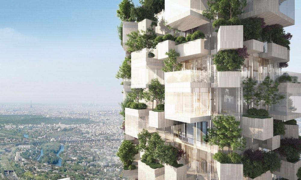 Во Франции строят дом-лес