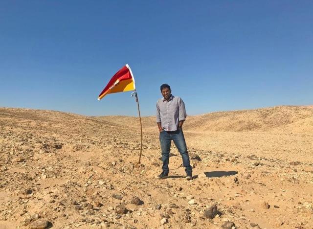Индиец провозгласил себя королем куска земли между Египтом и Суданом