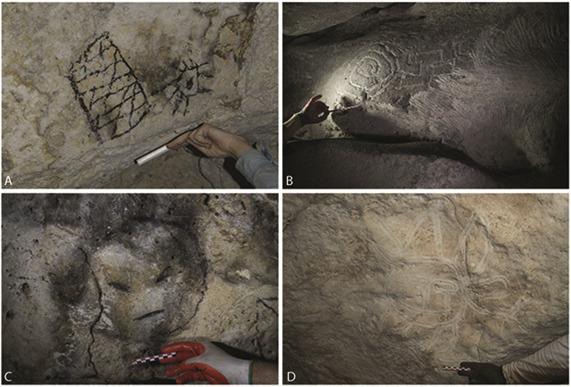 На Карибах найдены психоделические рисунки древних индейцев