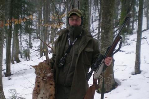 В Карпатах лесники застрелили  рысь, занесенную в Красную книгу