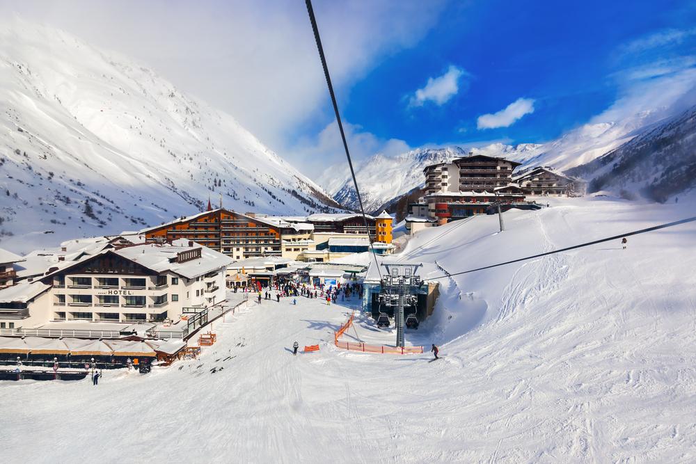 ТОП-5 горнолыжных курортов Австрии