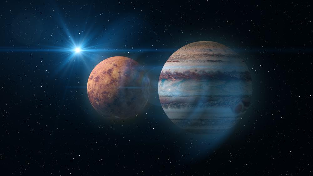 Парад планет: Юпитер и Венера устроят свидание в утреннем небе