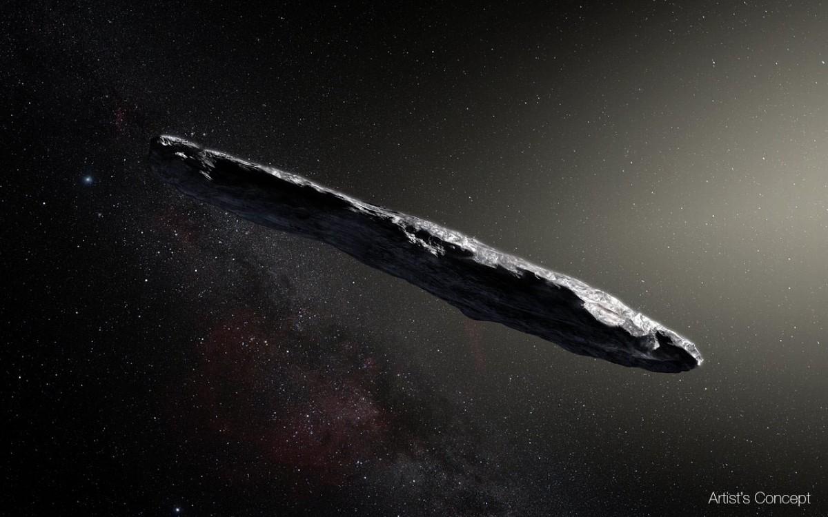 Астрономы впервые в истории изучили межзвездный астероид