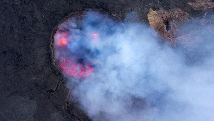 Эфиопский вулкан улыбнулся фотографу
