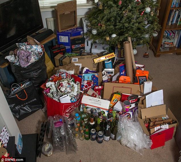 Британцы подсчитали количество мусора, оставшегося после Рождества