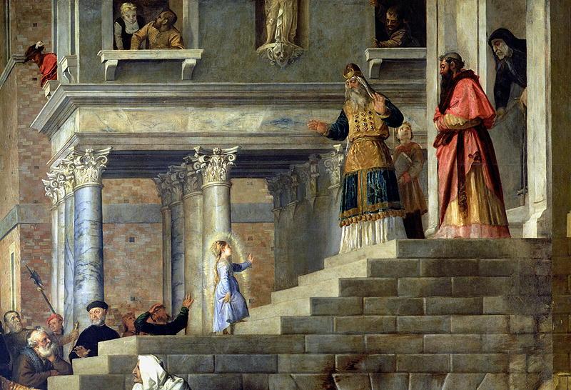 Введение во храм Пресвятой Богородицы у христиан восточного обряда