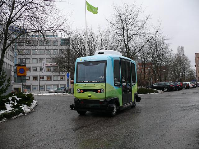 В Стокгольме с января начнут курсировать бесплатные беспилотники