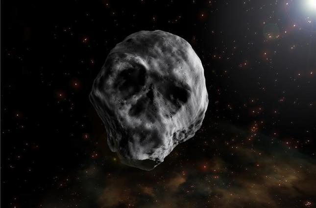 Астероид в форме черепа сблизится с Землей в 2018 году.Вокруг Света. Украина