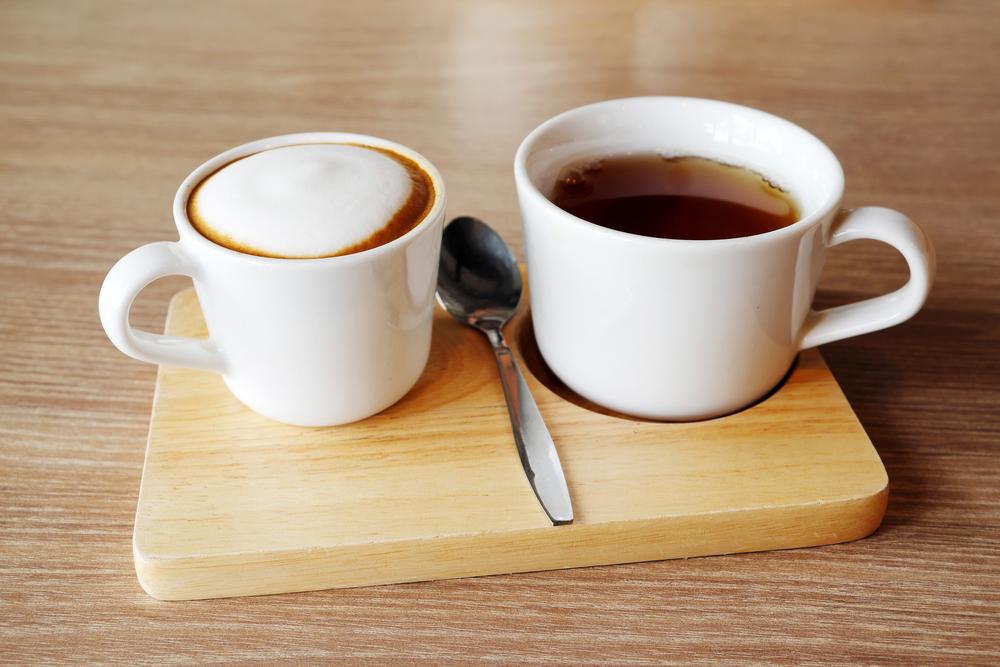 Где больше кофеина — в кофе или чае?