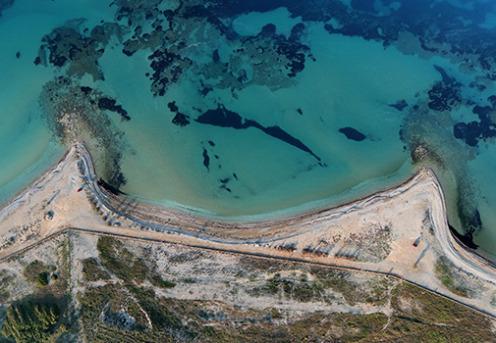 Археологи исследовали затонувший порт, упоминавшийся в Новом Завете (видео)