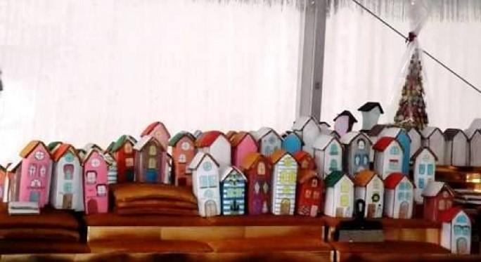 В Одессе построили пряничный городок из 300 домов