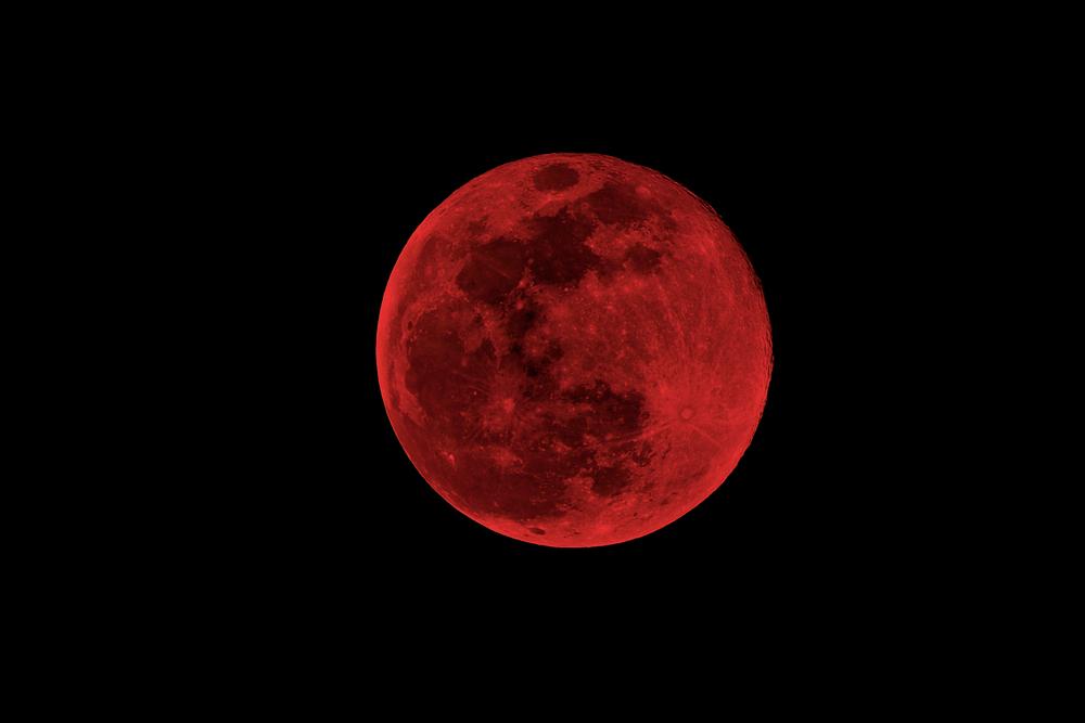 Почему луна красная?.Вокруг Света. Украина
