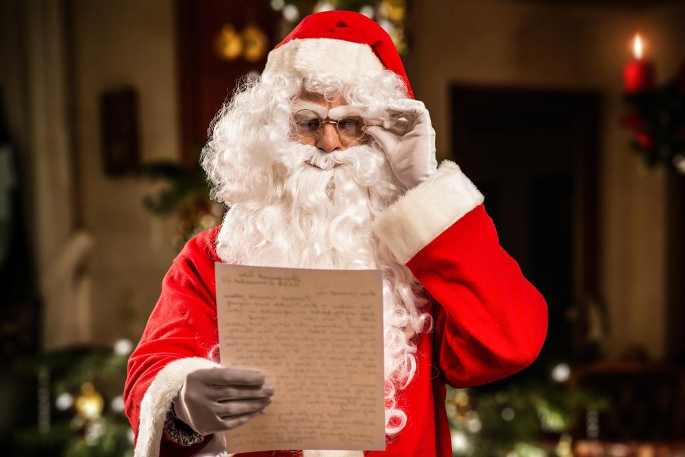 6-летний мальчик написал циничное письмо Санта-Клаусу