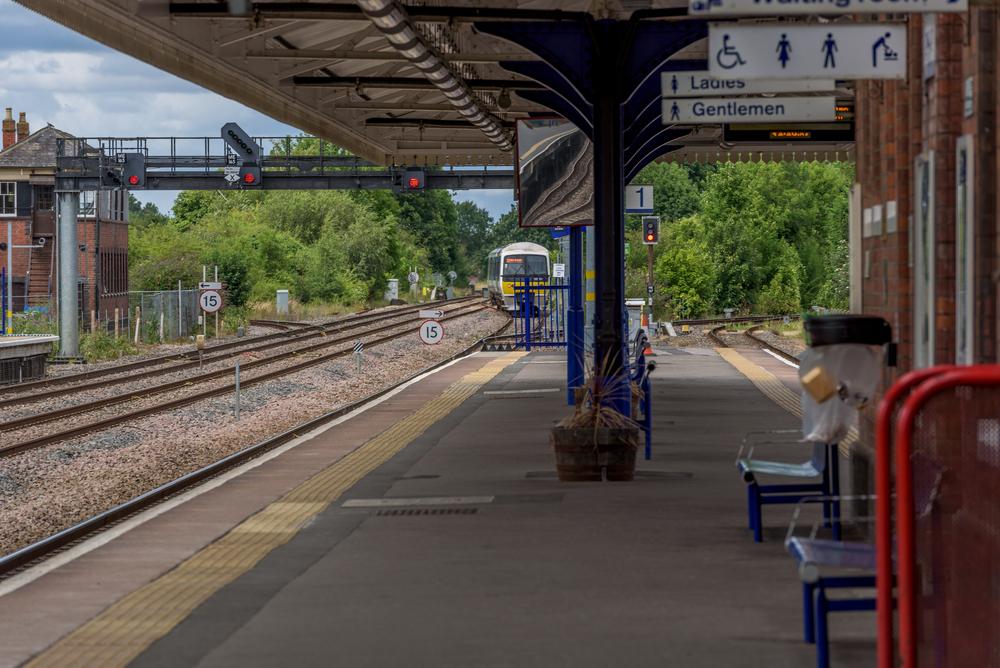 Станция одного поезда в Шотландии работает для 24 пассажиров
