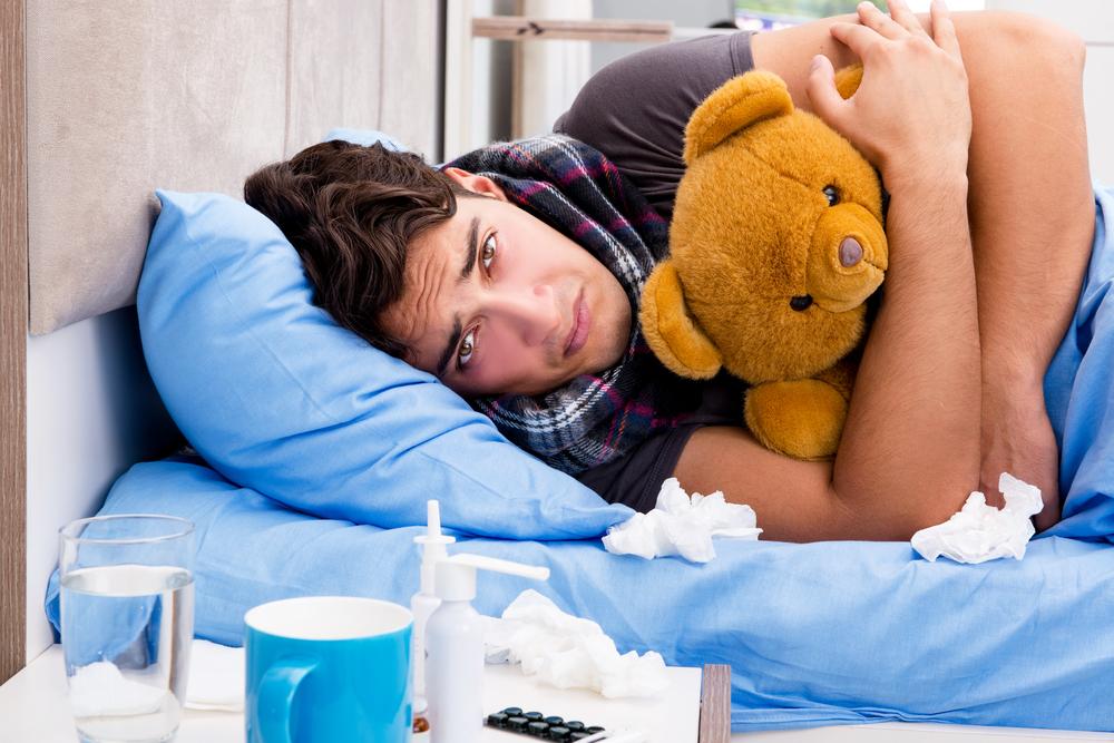 Ученые нашли причину нытья заболевших мужчин