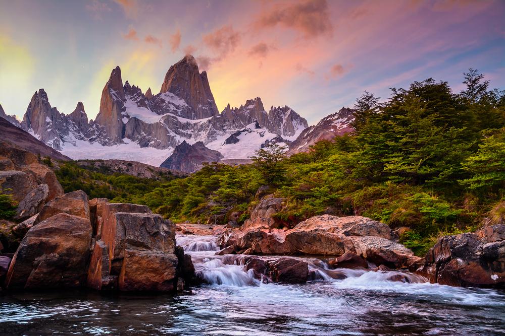 По следам Дарвина и Паганеля: гора Фитцрой в аргентинской Патагонии