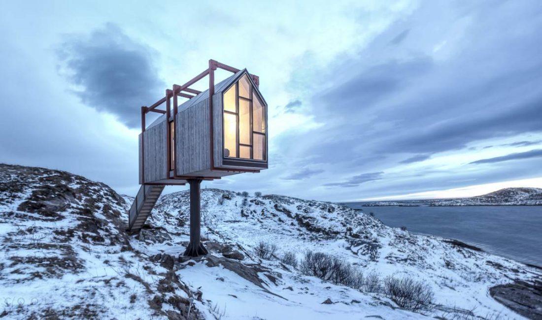 Побег от праздников? Антистресс-отель в Норвегии обещает творческое уединение