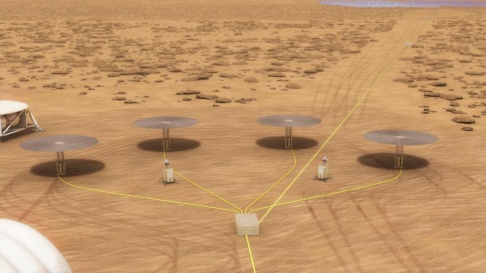 NASA испытывает миниатюрный ядерный реактор для колонии на Марсе.Вокруг Света. Украина