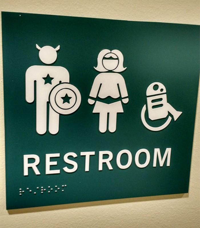 Бла-бла-бла, или Самые креативные туалетные знаки Бла-бла-бла, или Самые креативные туалетные знаки 10 5