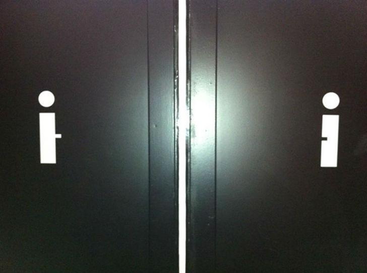 Бла-бла-бла, или Самые креативные туалетные знаки Бла-бла-бла, или Самые креативные туалетные знаки 11 3