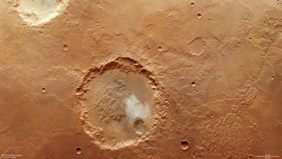 Под поверхностью Марса ученые нашли воду.Вокруг Света. Украина