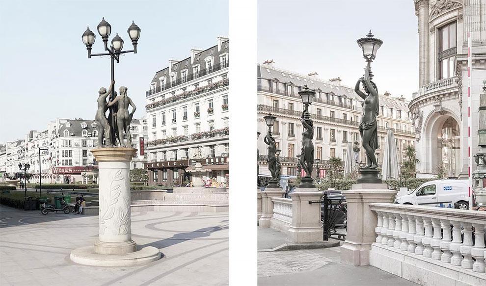 Французский и китайский Париж: найдите 10 отличий Французский и китайский Париж: найдите 10 отличий 12 38